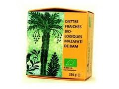 250 g de dattes fraîches  biologiques MAZAFATI