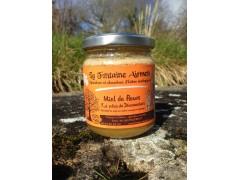 """Miel - Spécialité de miel aux épices """"Potion de Dhanwantari"""" - Miel, curcuma et galanga - 250g"""