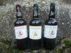 Bière St Georges carton de 6 bouteilles 75 cl