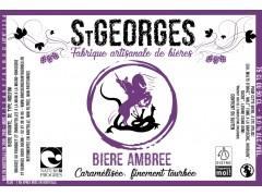 Bière St Georges Ambrée - 50 cl - Nature et Progrès