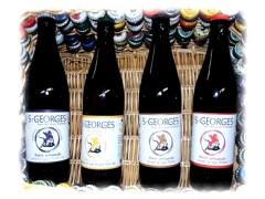 Bière St Georges carton de 8 bouteilles 50 cl