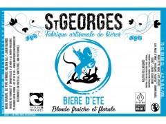 Bière St Georges Bière d'été 75 cl - Nature et Progrès