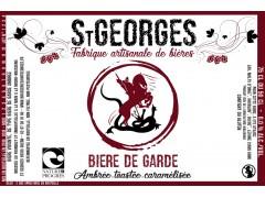 Bière St Georges Bière de Garde - 50 cl - Nature et Progrès