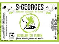 Bière St Georges Houblon du Jardin 75 cl -  Nature et Progrès