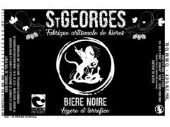 Bière St Georges  Noire 75 cl - Nature et Progrès
